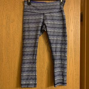 Lululemon pattered leggings